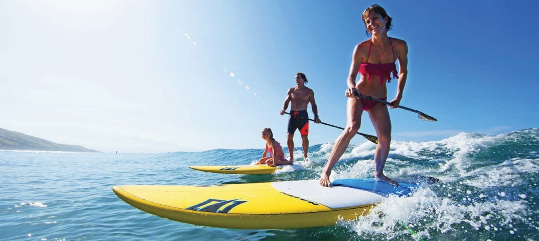 GRT Fitness SUP_Banner 7 Benefits of Stand Up Paddle boarding