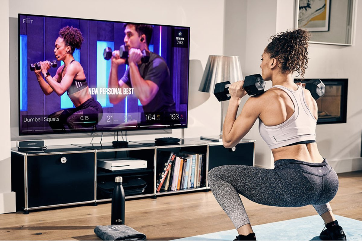 GRT Fitness Workout_at_home_at_tv Creative ways to exercise during pandemic