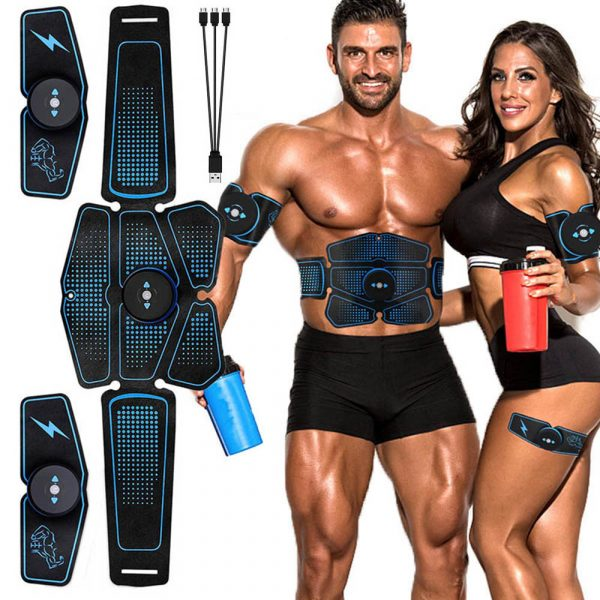 GRT Fitness 16973-hcthpp Abdominal Muscle Stimulator for Training