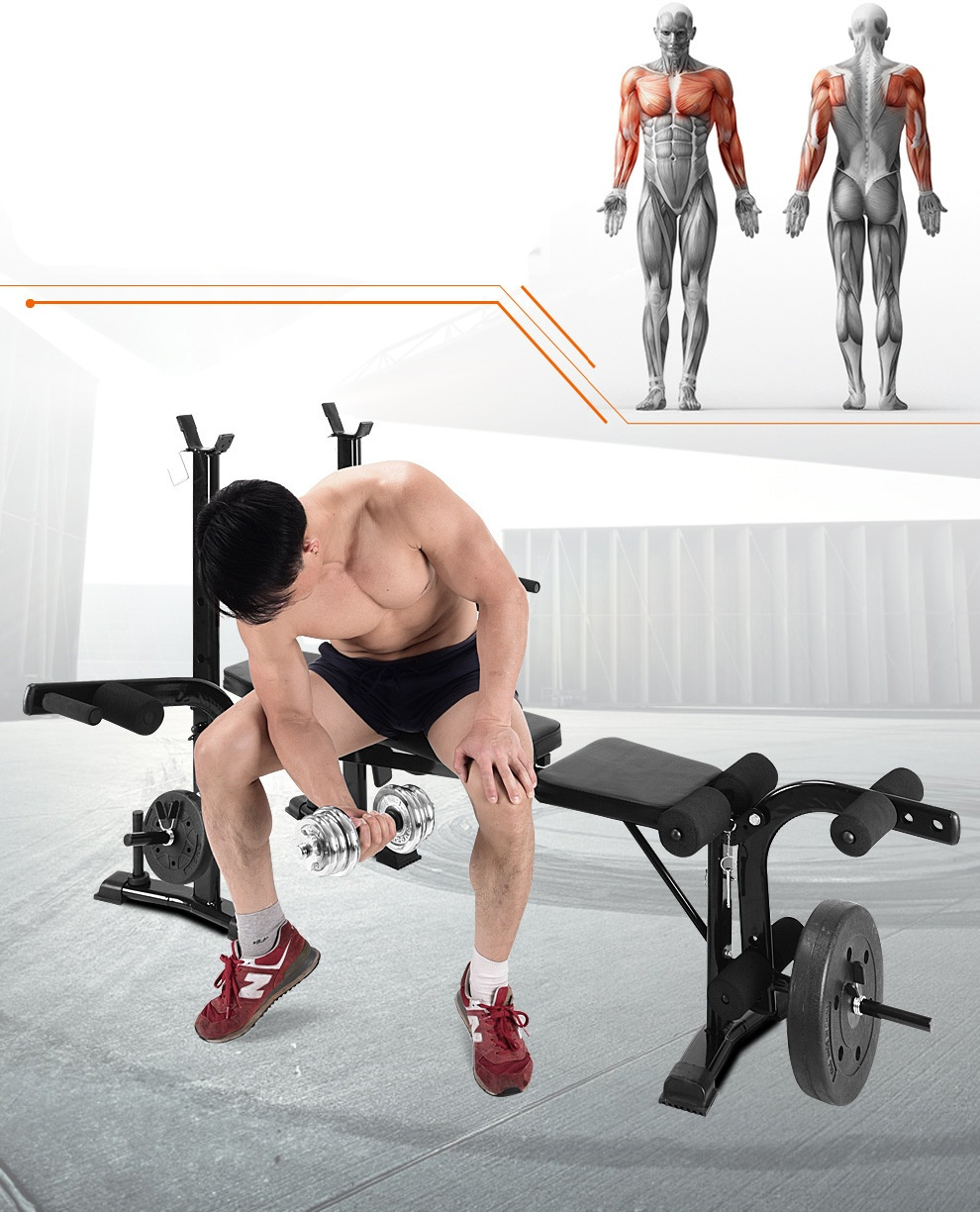 GRT Fitness 17348-tlhxmj Multifunction Gym Weight Bench