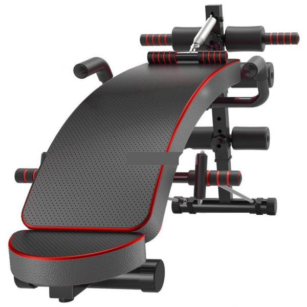 GRT Fitness 17352-liwuct Multi-Functional Ab Bench, Abdominal Sit Up Bench, Decline Bench with Headrest