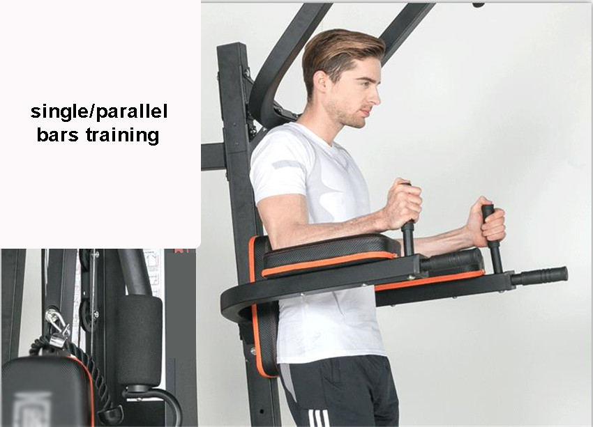 GRT Fitness 17400-1dw9on 8 in 1 Large Combined Training Device