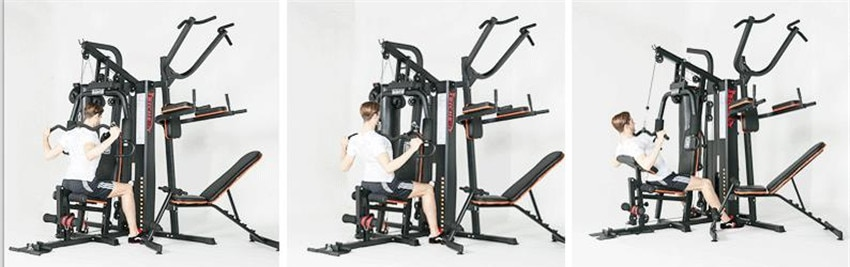 GRT Fitness 17400-1z3bvt 8 in 1 Large Combined Training Device