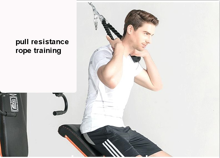 GRT Fitness 17400-q79c3w 8 in 1 Large Combined Training Device