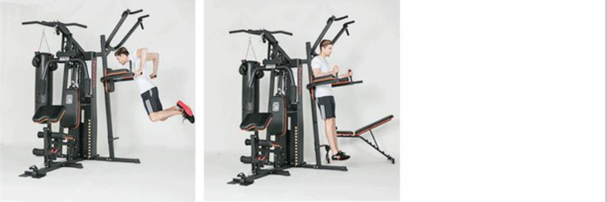GRT Fitness 17400-y9kxeu 8 in 1 Large Combined Training Device