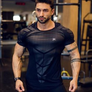 GRT Fitness 18601-dyop2o-300x300 Men's Compression Quick Dry T-Shirt