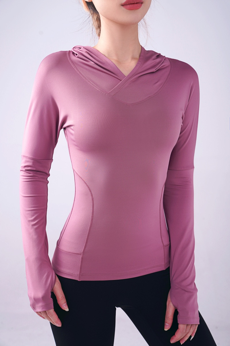 GRT Fitness 19926-ur3qip Women's Sweatshirt with Hood