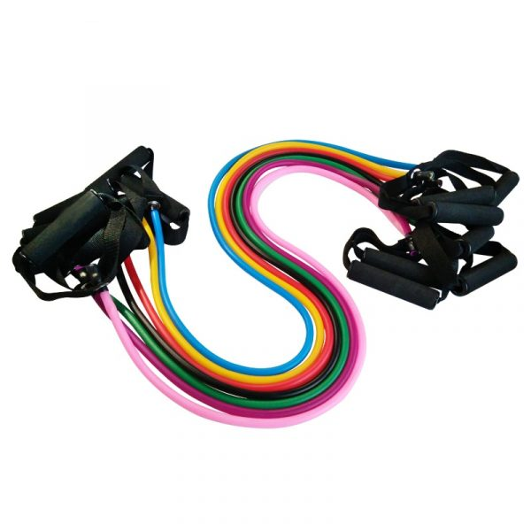 GRT Fitness 21084-momb2g Colorful Strength Training Resistance Band
