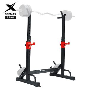 GRT Fitness 22353-koeveu-300x300 Heavy Duty Steel Weight Lifting Adjustable Squat Rack Exercise Stand Home Fitness Barbells Bars Workout