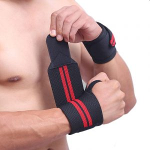 GRT Fitness 22605-3g8gsu-300x300 6 Colors Adjustable Wristband Elastic Wrist Wraps Bandages For Weightlifting Power Lifting Breathable Wrist Support
