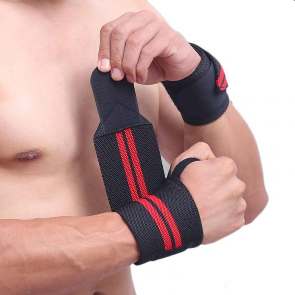 GRT Fitness 22605-3g8gsu 6 Colors Adjustable Wristband Elastic Wrist Wraps Bandages For Weightlifting Power Lifting Breathable Wrist Support