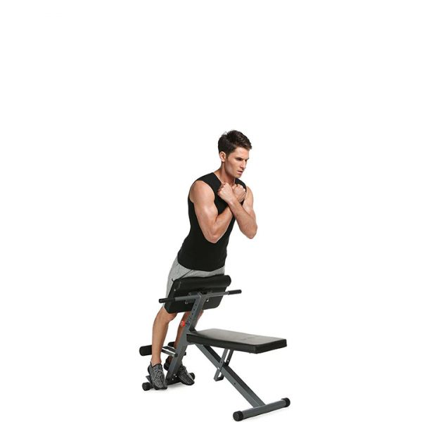 GRT Fitness 0-672089 Multifunctional Sit Up Bench Pro Ab Training Chair Core Strength Equipment