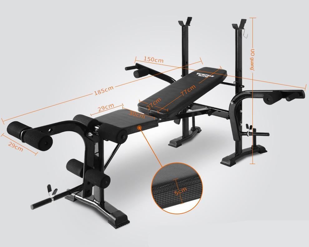 GRT Fitness 17348-231cd4 Multifunction Gym Weight Bench