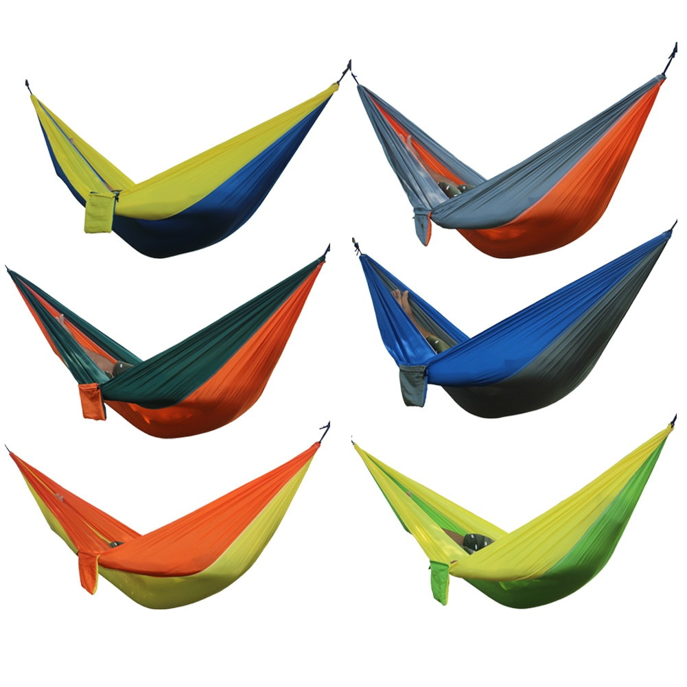 GRT Fitness 23283-dex5mm Double Person Portable Hammock for Camping