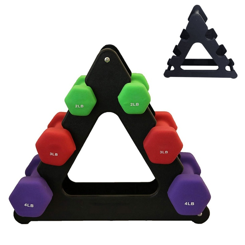 GRT Fitness 23541-xwsjcq Dumbbell Set Bracket Fitness Accessories 2/3/5Lb Dumbbell Support Rack Stands Gym Weight Lifting Holder Fitness Equipment