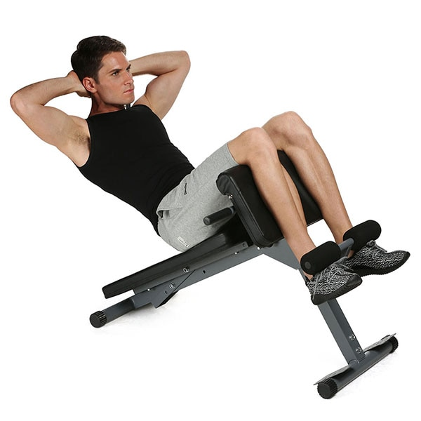 GRT Fitness 23701-fx6oqq Multifunctional Sit Up Bench Pro Ab Training Chair Core Strength Equipment