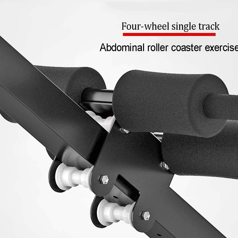 GRT Fitness 23781-je7eby 4in1 Foldable Dumbbell Bench 7 Gear Backrest Sit Up AB Abdominal Multifunctional Fitness Bench Weight Training Equipment Rollers