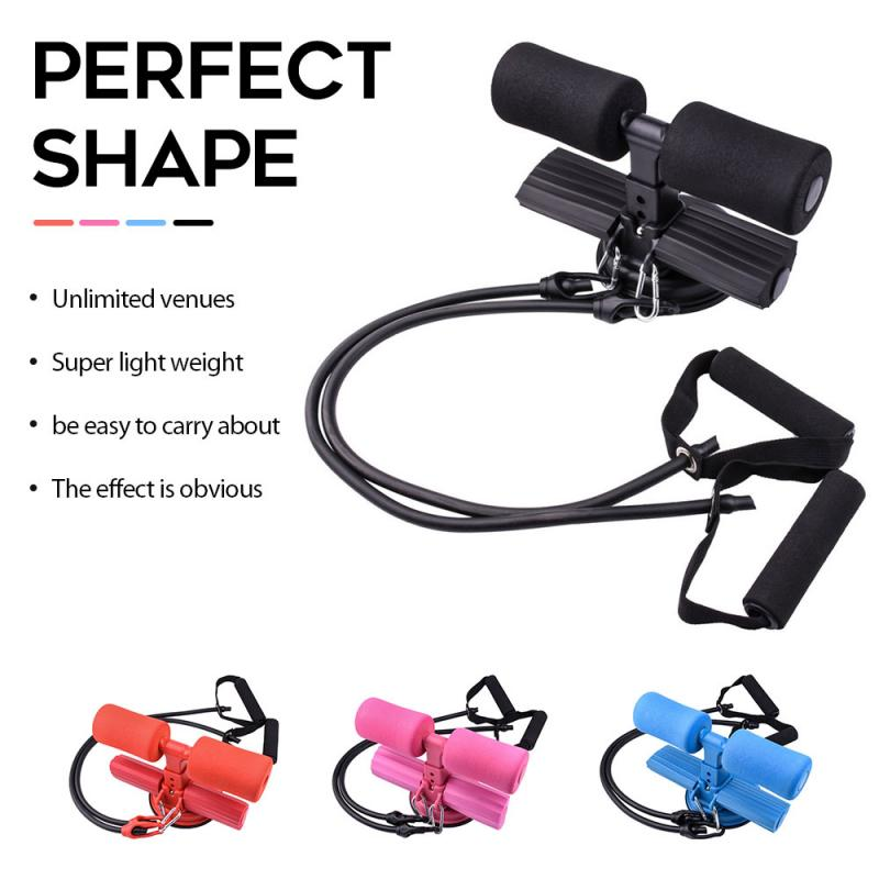 GRT Fitness 23810-ithgyh Sit Up Bar Floor Assistant Abdominal Exercise Stand Ankle Support Trainer Workout Equipment For Home Gym Fitness Travel Gear