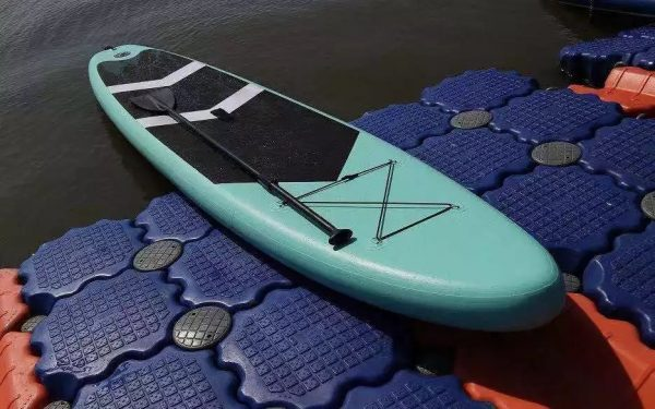 GRT Fitness IMG_7067 Inflatable 10,5 feet SUP board with pump, paddle, bag and repair kit